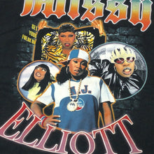 "画像をギャラリービューアに読み込む, Missy Elliott ""Get Ur Freak On"" Vintage Style T-Shirt -BLACK-"
