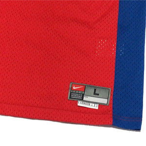"NIKE ""Los Angeles Clippers"" Basketball Jersey-RED-"
