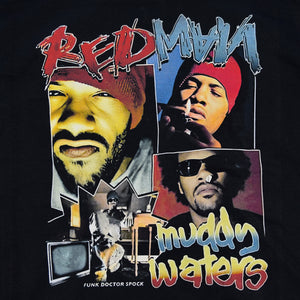 "REDMAN ""Muddy Waters"" Vintage Style T-Shirt -BLACK-"