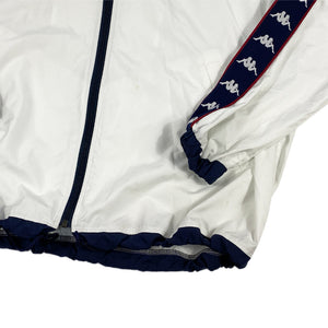 """Kappa"" Nylon Jacket -WHITE-"