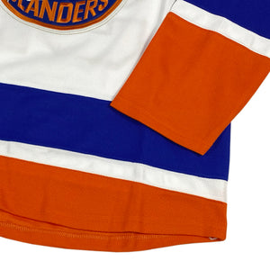 "Reebok ""New York Islanders"" Hockey Jersey -WHITE- (DEAD STOCK)"