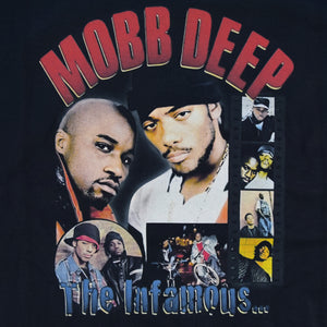 "MOBB DEEP ""The Infamous"" Vintage Style T-Shirt -BLACK-"