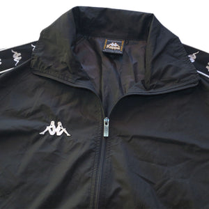 """Kappa"" Nylon Jacket & Pants -BLACK-"