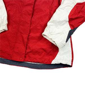 """Columbia Sportswear"" Mountain Jacket -RED×WHITE-"