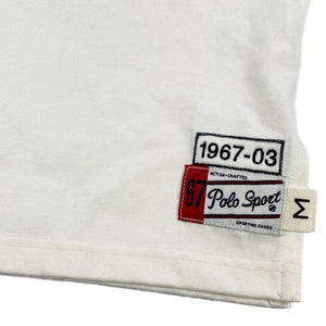 """POLO SPORT"" Tank Top -WHITE-"