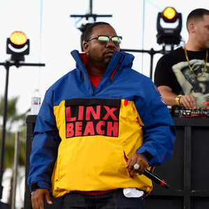 "CL-95 ""LINX BEACH"" MK2 Jacket-BLUE×YELLOW-"