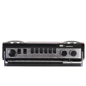 SANSUI Bluetooth Stereo Radio Cassette-RED-