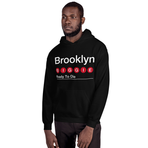 "BROOKLYN ""BIGGIE"" P/O Hoodie -BLACK-"