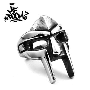 "MF Doom ""Madvillain Gladiator"" Silver Ring"