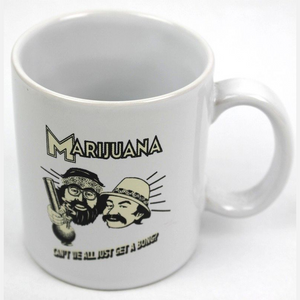 "CHEECH & CHONG ""CANT WE ALL GET A BONG"" MUG"