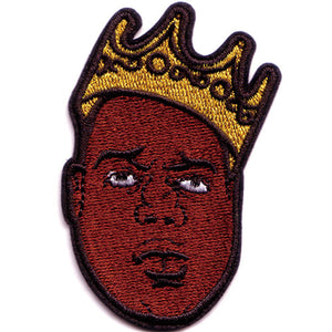 "The Notorious B.I.G. ""King Crown"" Patch"