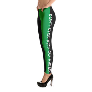 "Crooklyn""Don't stop keep go ahead.""Leggings"