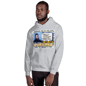 "Ol' Dirty Bastard ""Return To The 36 Chambers"" Cover Art P/O Hoodie -H.GREY-"