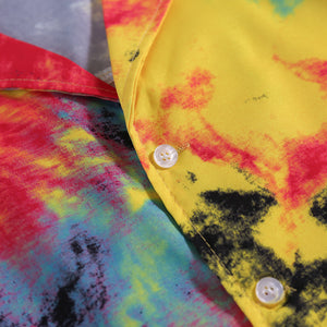 """Dark Icon"" Tie Dye S/S Shirt"