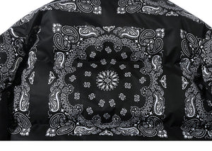"""TINY SPARK"" Paisley Pattern Down Jacket"