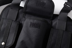 """Dark Icon"" Multi Function Pocket Vest"