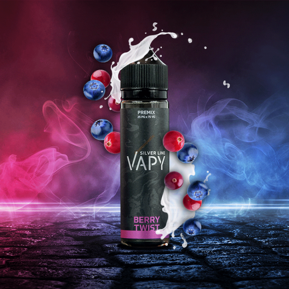 VAPY Silver Line Berry Twist 50ml