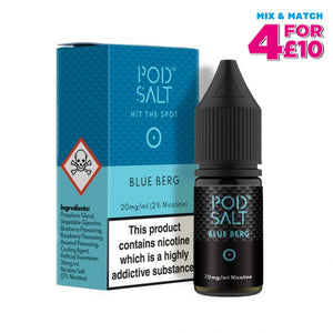 Pod Salt Blue Berg 10Ml Nicotine E-Liquid