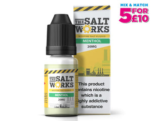 The Salt Works Nic Salts Eliquid Menthol