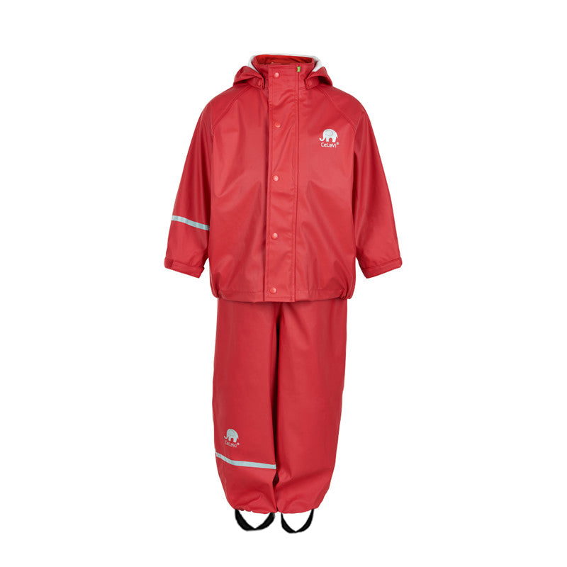 Waterproof Kids Set  Red