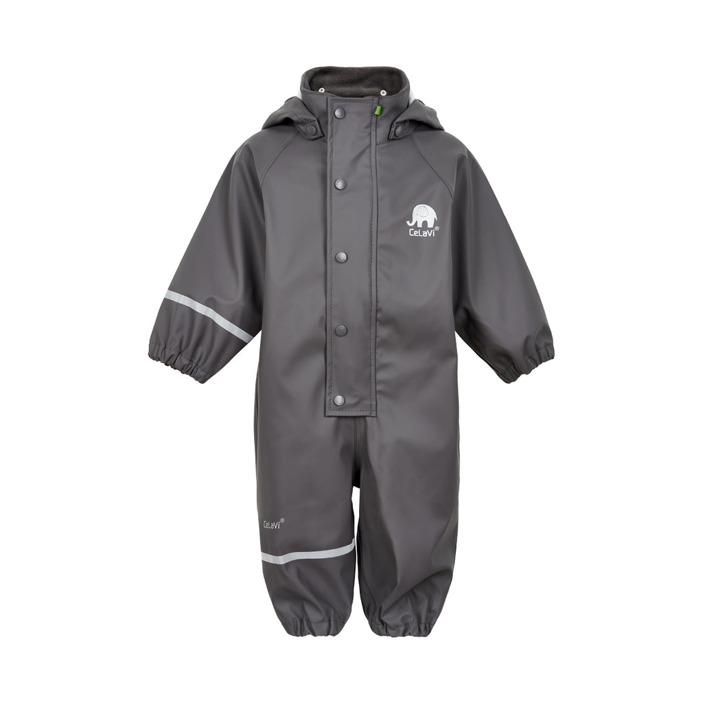 Toddler Waterproof Overall Grey