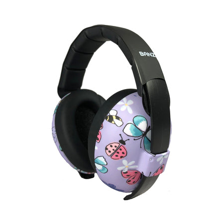 Baby Banz Ear Defenders, Butterfly, up to 2 years