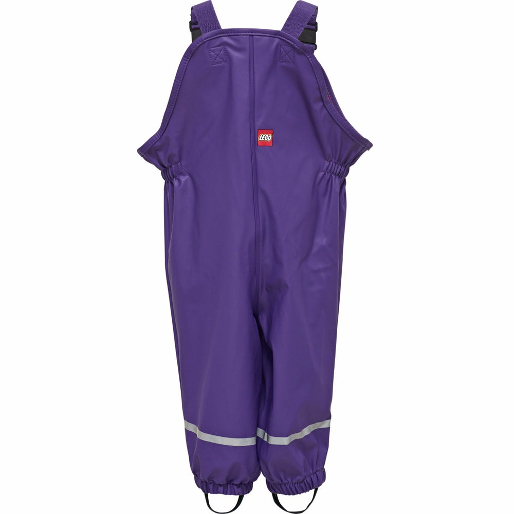 Purple Lego Wear Waterproof Dungarees, ages 1 - 6 years