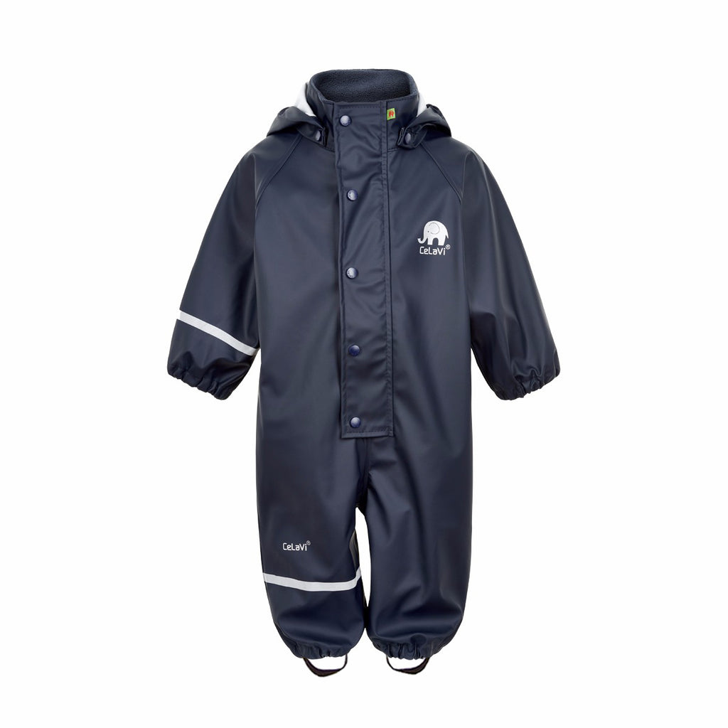 Kids Waterproof Overall Navy