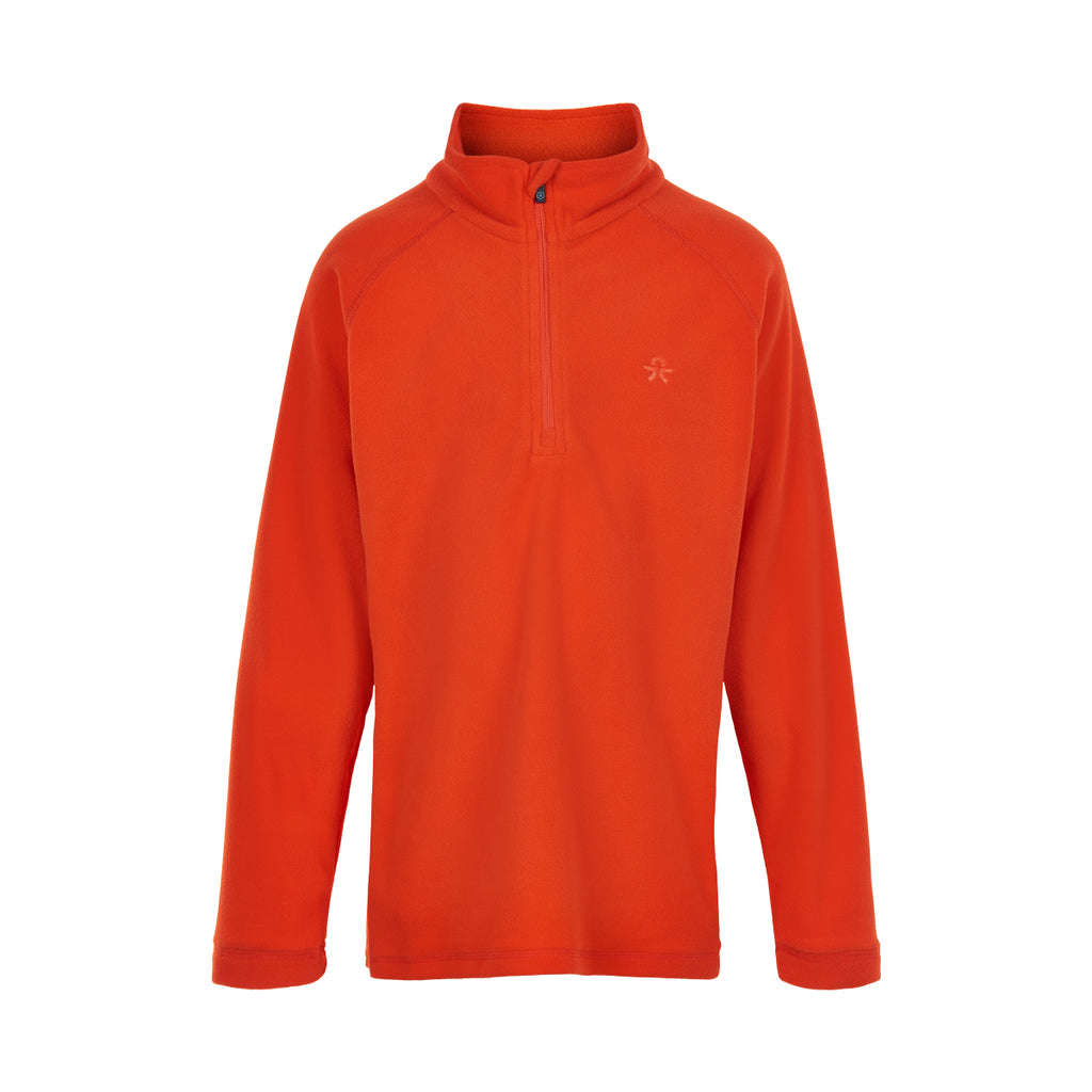 Orange Fleece Top