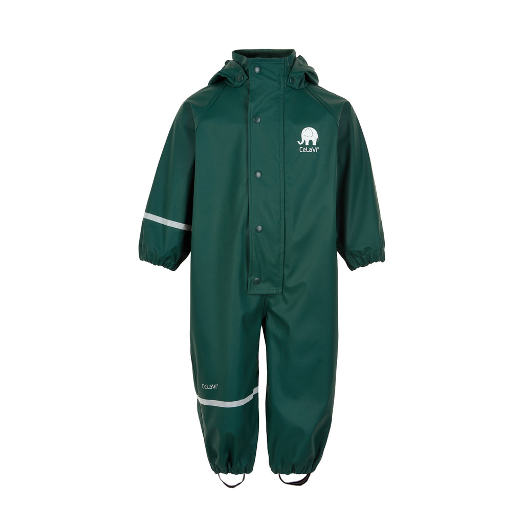 Kids Waterproof Overall Pine Green