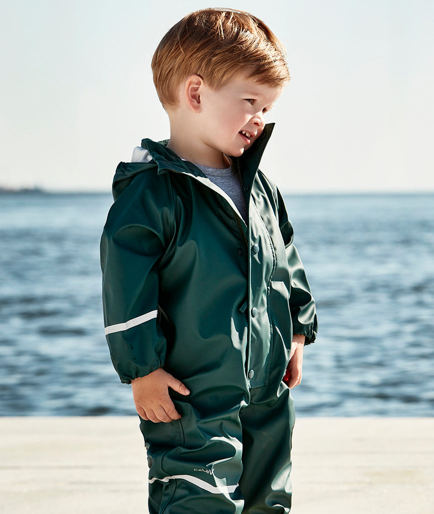 Kids Waterproof Overall - Green