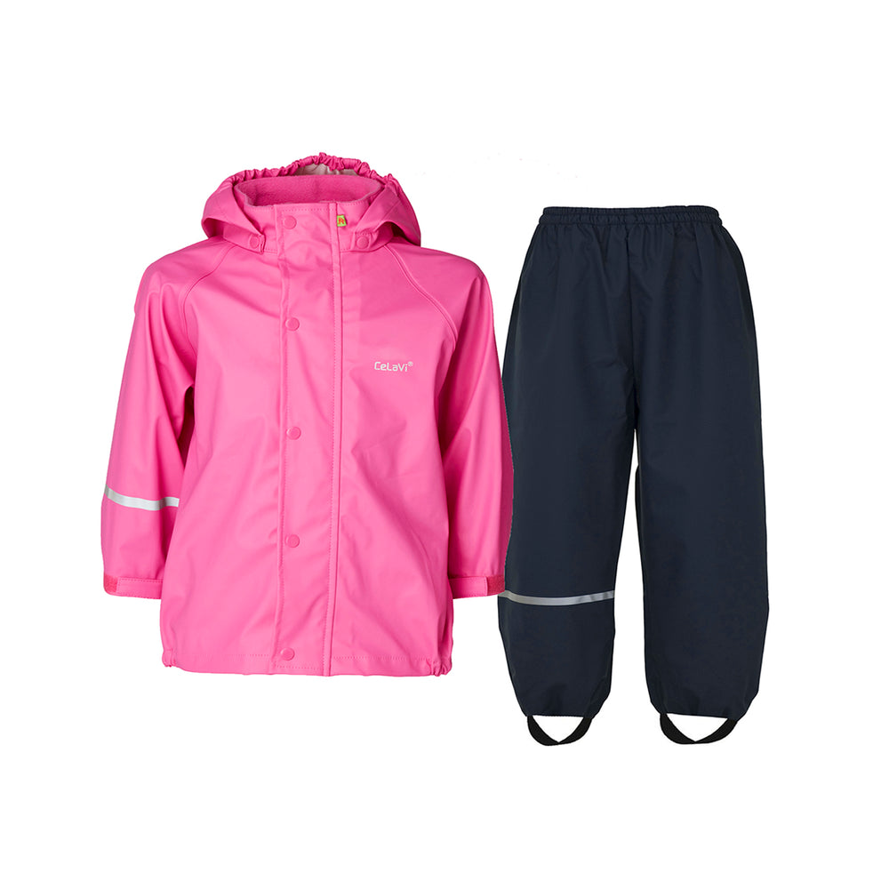Children's Waterproof Set Cerise