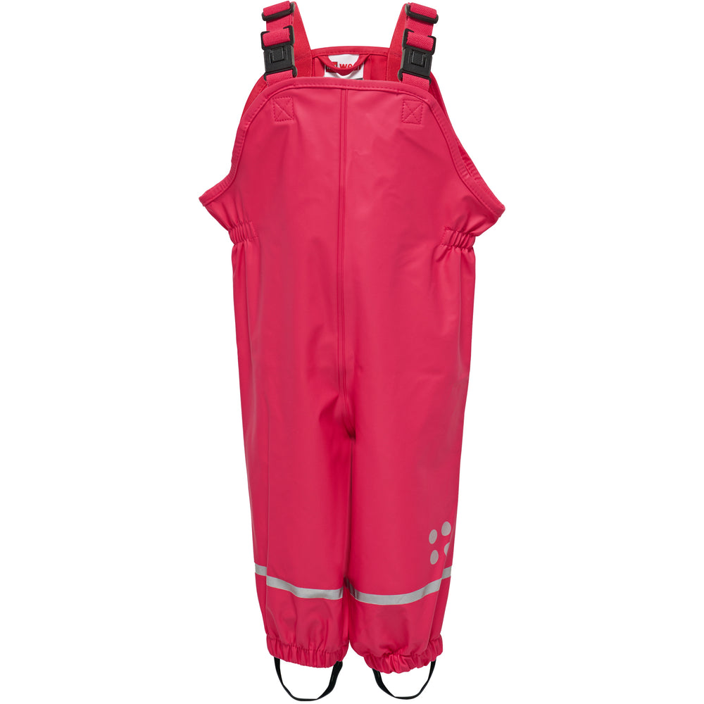 Pinky Red Children's Dungarees