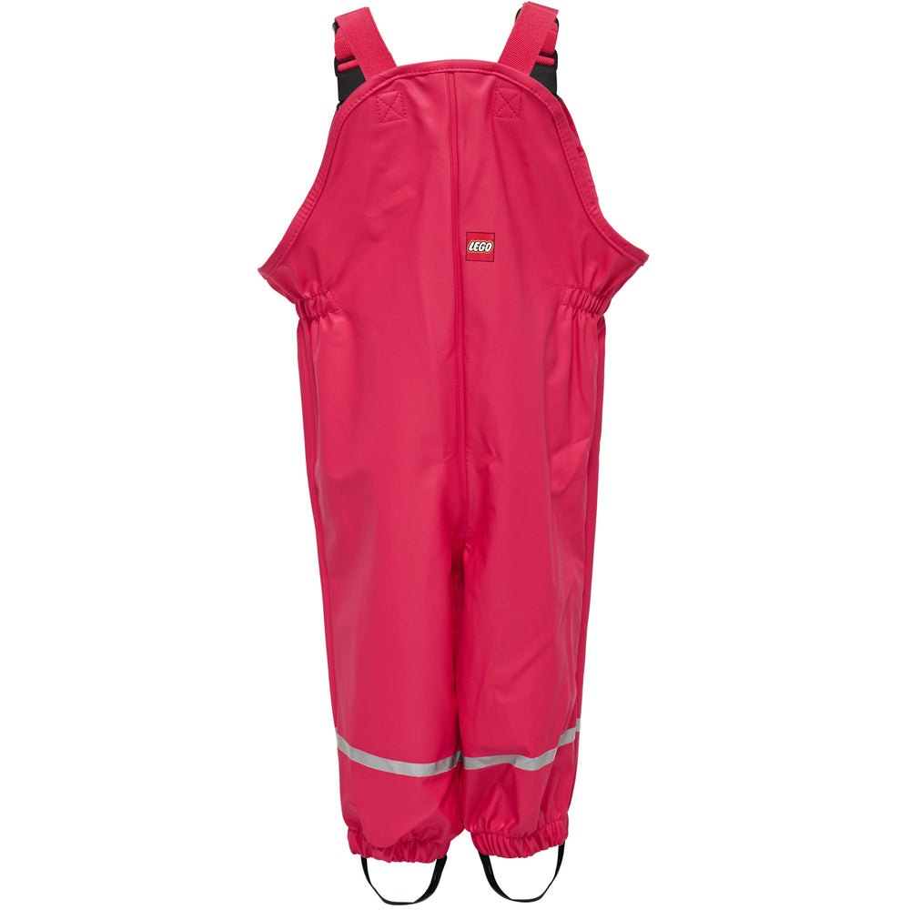 Pinky-Red Lego Wear Waterproof Dungarees, ages 1 - 6 years