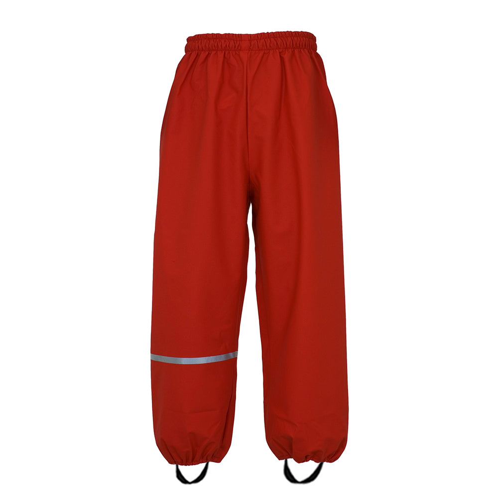Red Waterproof Trousers