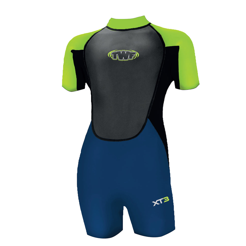 Kids Wetsuit Lime Green