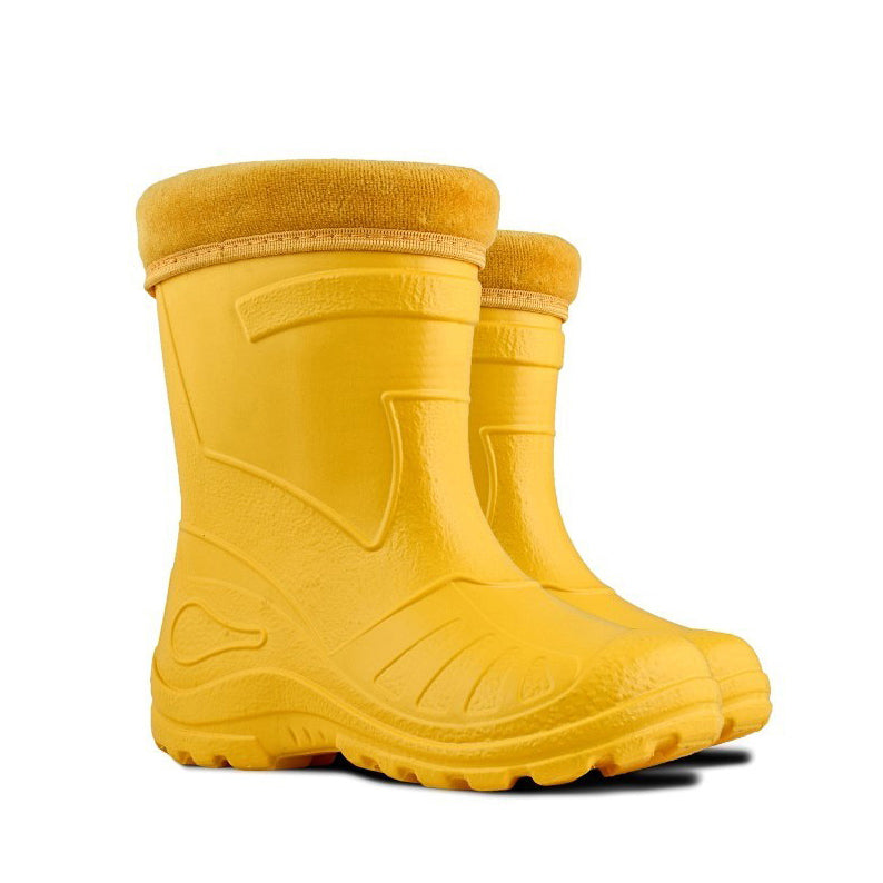 Kids Wellies Yellow