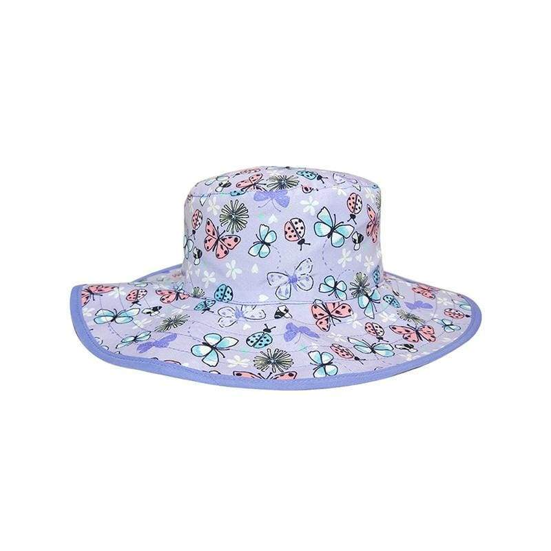 Kids UV Sun Hat Butterflies