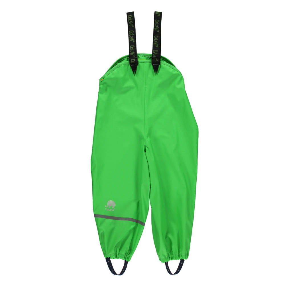 Rain Dungarees for Kids - Green