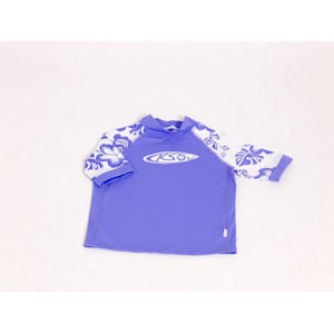 Girls Lilac UV Sun Top