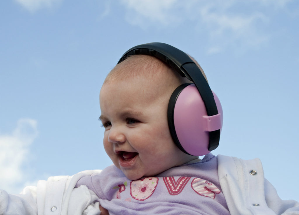 Pink Baby Banz Ear Defenders