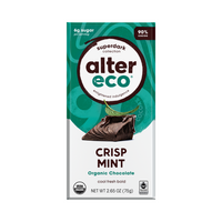 ALTER ECO Chocolate (Organic) Dark Crisp Mint 80g