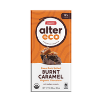 ALTER ECO Chocolate (Organic) Dark Salted Burnt Caramel 80g