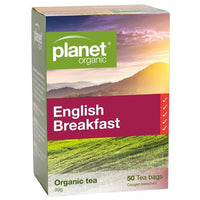 PLANET ORGANIC Tea Bags English Breakfast