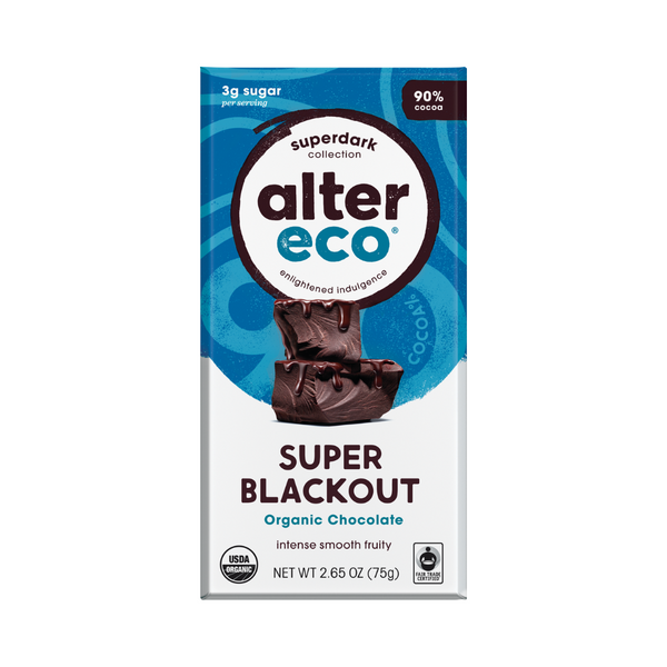 ALTER ECO Chocolate (Organic) Deepest Dark Super Blackout 80g