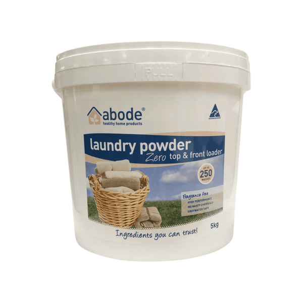 ABODE Laundry Powder Fragrance Free [5kg pre-packed]