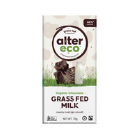 ALTER ECO Chocolate (Organic) Grass Fed Milk 75g