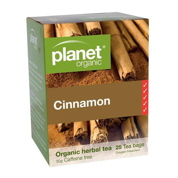 PLANET ORGANIC Herbal Tea Bags Cinnamon 25