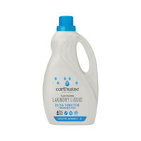 EARTHWISE Laundry Liquid Fragrance Free 2L
