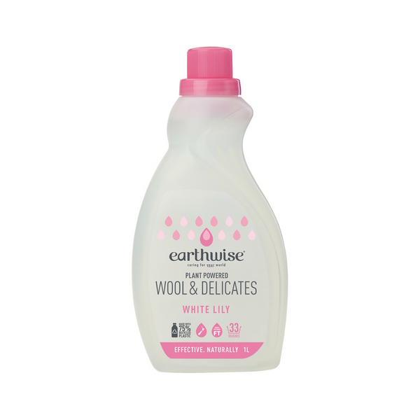 EARTHWISE Wool & Delicates White Lily 1L